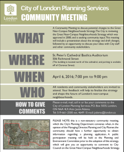 GNCN planning notice April6